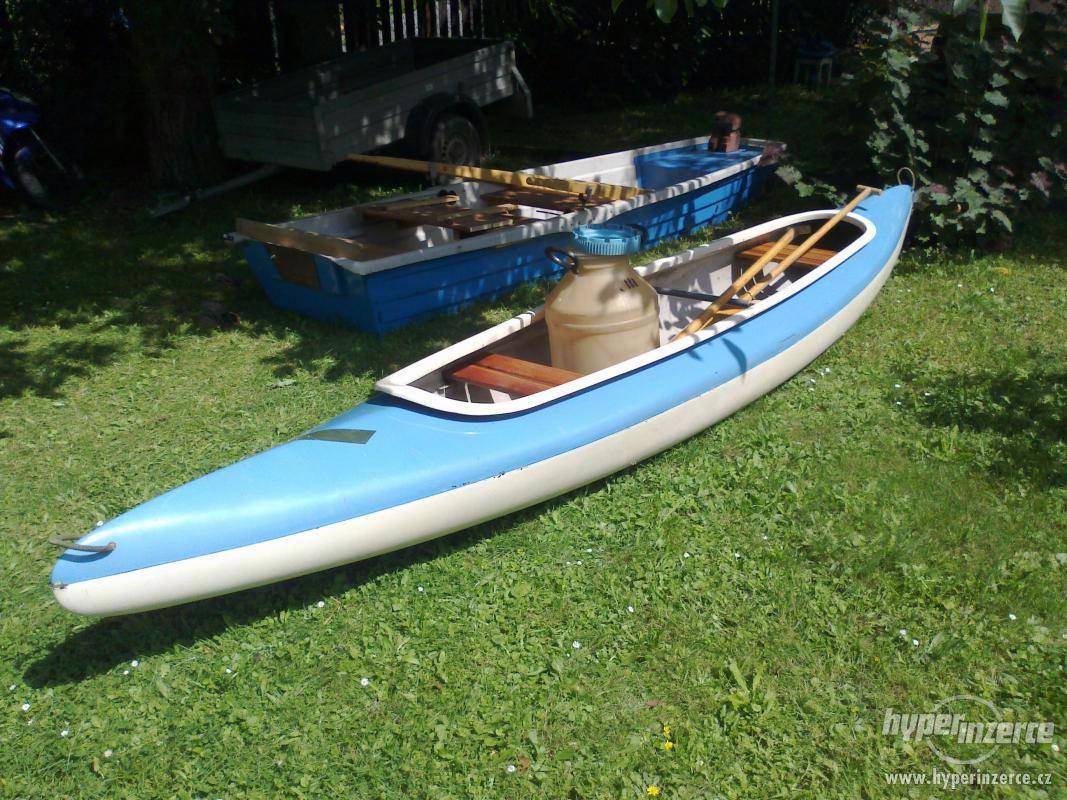 Kanoe, vesla, barel - foto 1