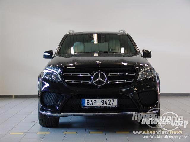 Mercedes-Benz GLS 500 4MATIC 4.7, benzín, automat, r.v. 2017, navigace, kůže - foto 6