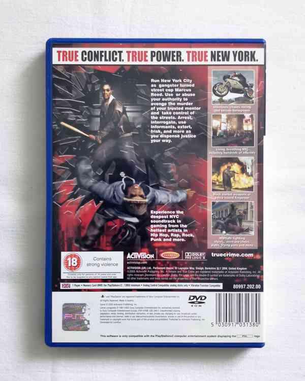PS2 - True Crime New York City - foto 3