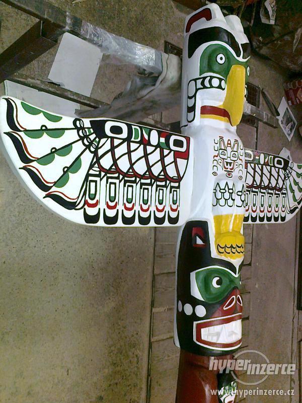 Indiánský totem-ORIGINÁL