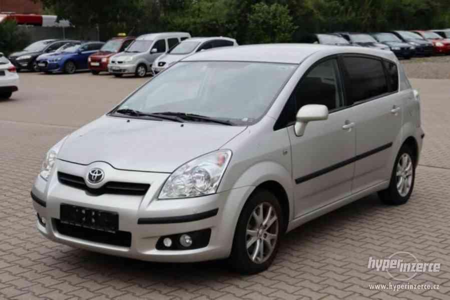 Toyota Corolla Verso 1.8i Team benzín 95kw - foto 14