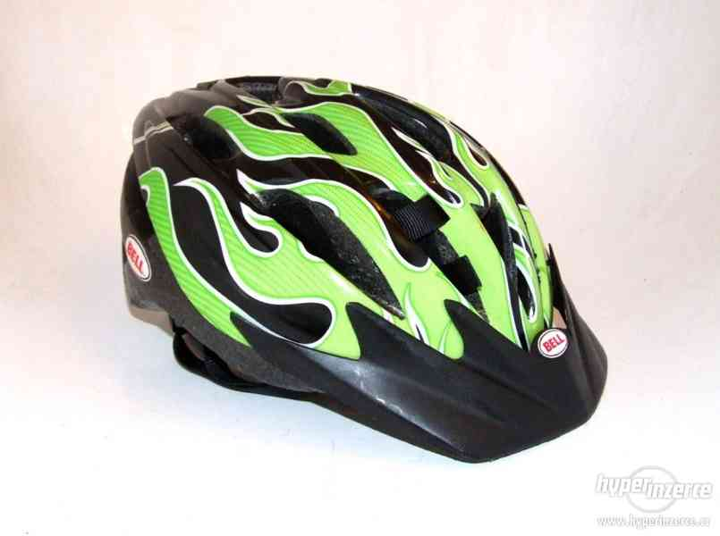 Juniorská helma na kolo ( cyklistická přilba ) vel S/M 50-57