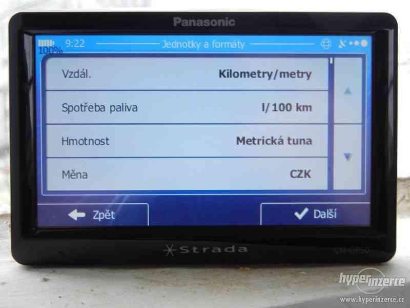 Panasonic Strada CN-GP50 mapy 2020 - Q2 - foto 7