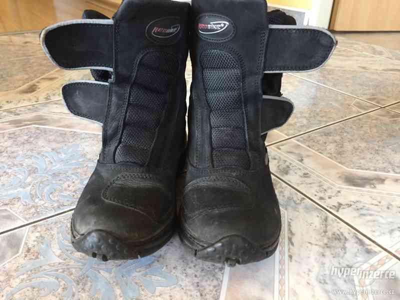 Dámské motorkářské boty - foto 2