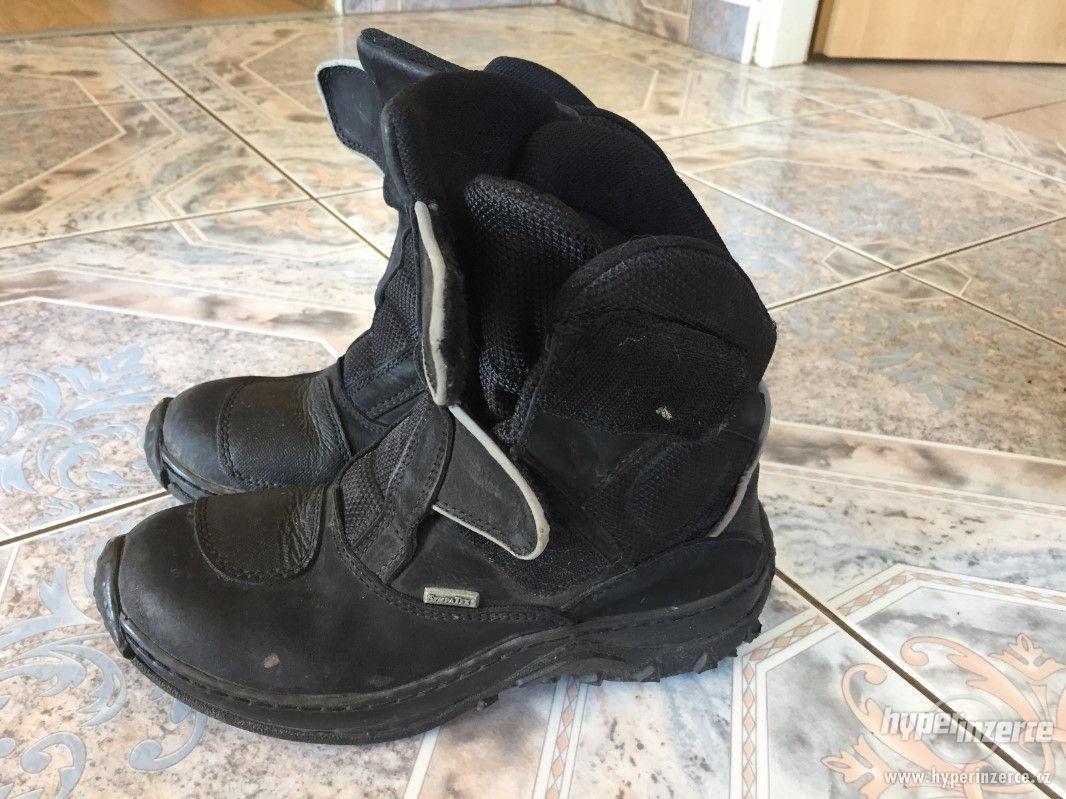 Dámské motorkářské boty - foto 1