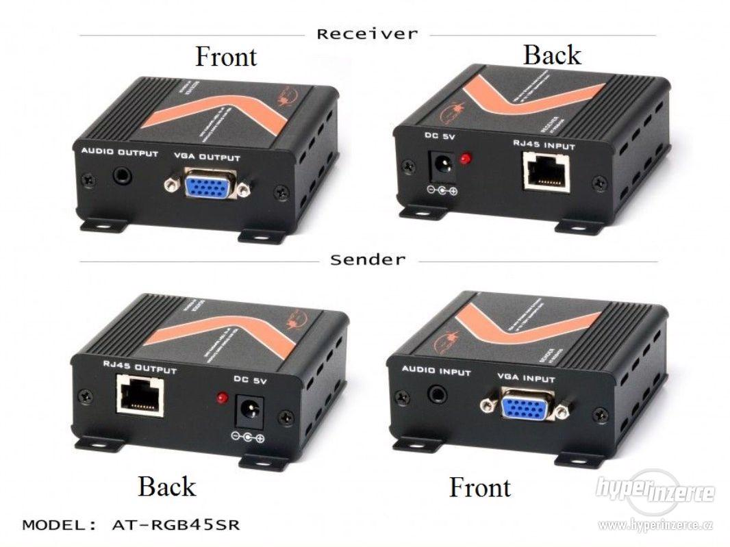 Extender Atlona AT-RGB45SR VGA s Audio - foto 1