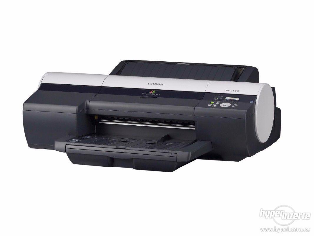 CANON imagePROGRAF iPF5100 - inkoust/pigmentová tiskárna - foto 1