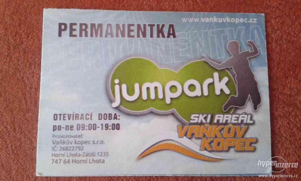 Permanentka do JUMPARKU-10 vstupů-sleva 600,-Kč!!! - foto 1