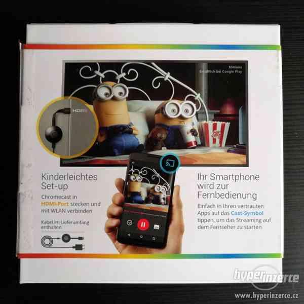 Google Chromecast 2 k televizi - foto 5