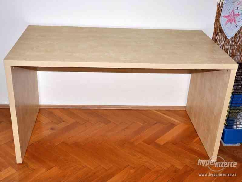 Psací stůl IKEA březová dýha - foto 5
