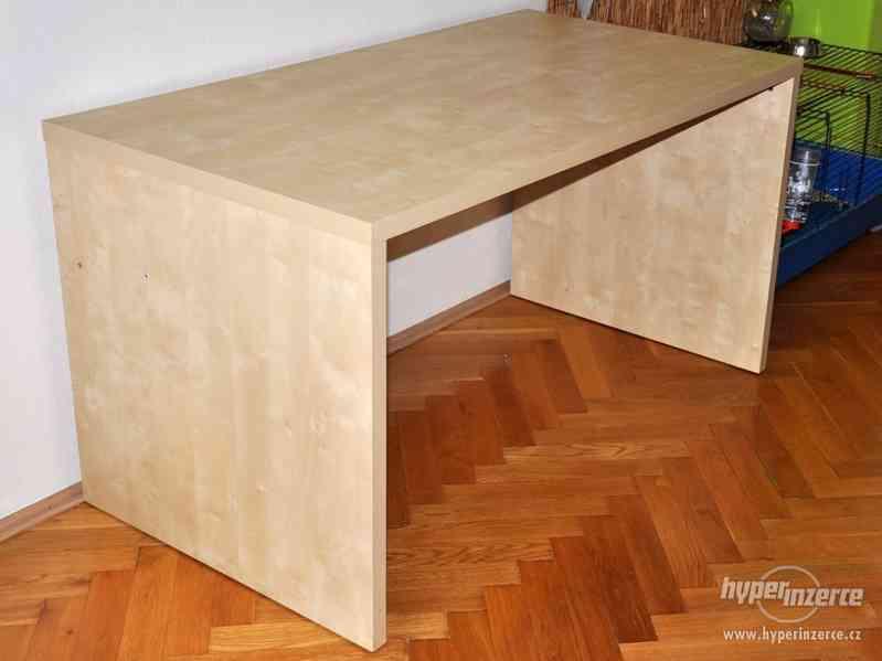 Psací stůl IKEA březová dýha - foto 6