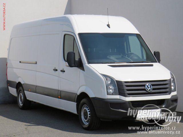 Prodej užitkového vozu Volkswagen Crafter