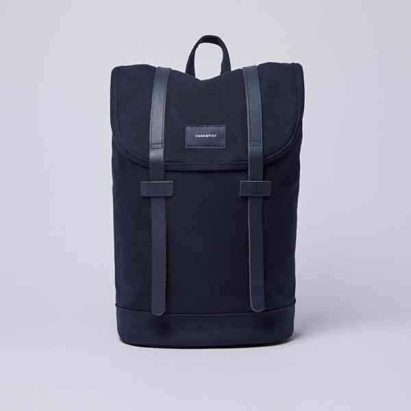 Sandqvist - Tmavě modrý batoh Stig  Velikost: OS