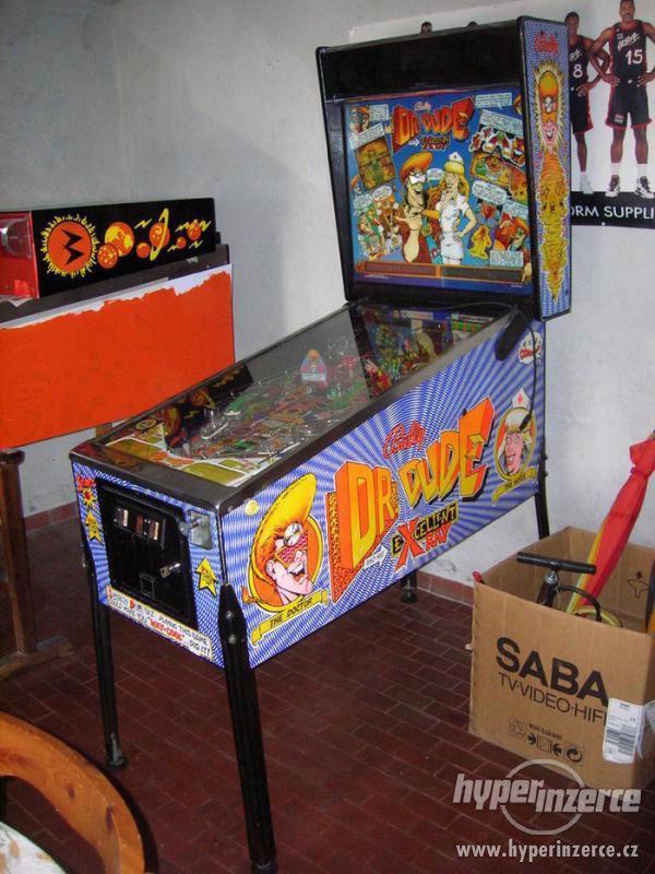 Koupím vyměním flipper pinball flipr fliper automat