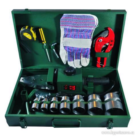 Polyfuzni svářečka PPR - 2580W + Rukavice + Nůžky