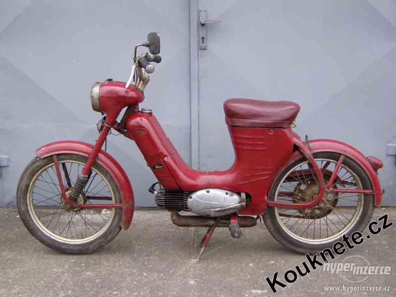 Koupím moped Stadion, Jawetta, Jawa 550 pařez