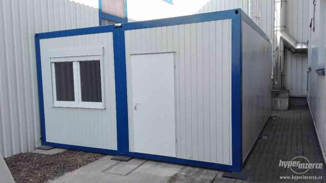 Nový obytný skládací kontejner, obytná buňka, mobilní dům
