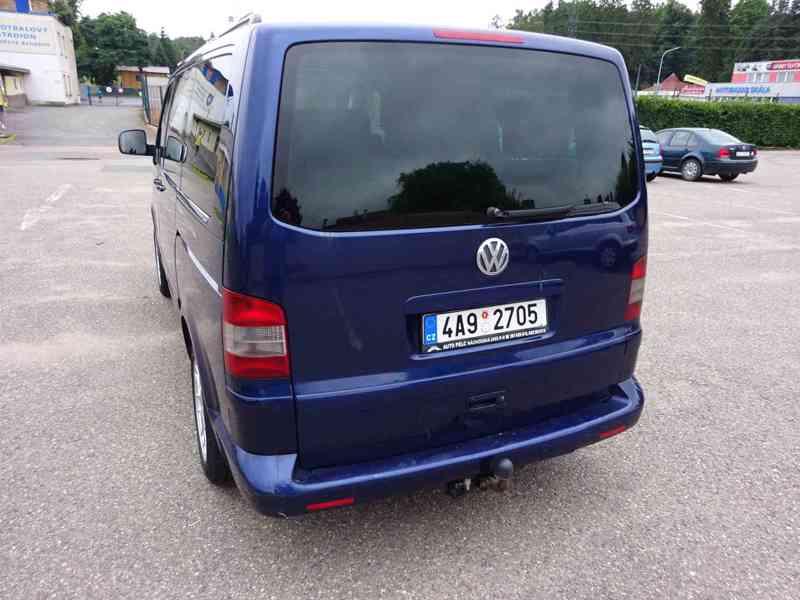 VW Multivan 2.5 TDI r.v.2003 2.Majitel v ČR - foto 4