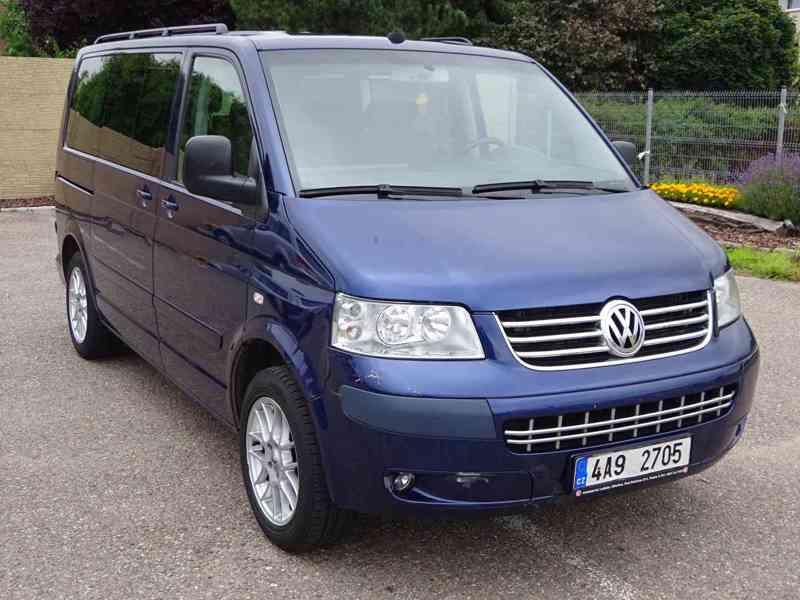 VW Multivan 2.5 TDI r.v.2003 2.Majitel v ČR - foto 1
