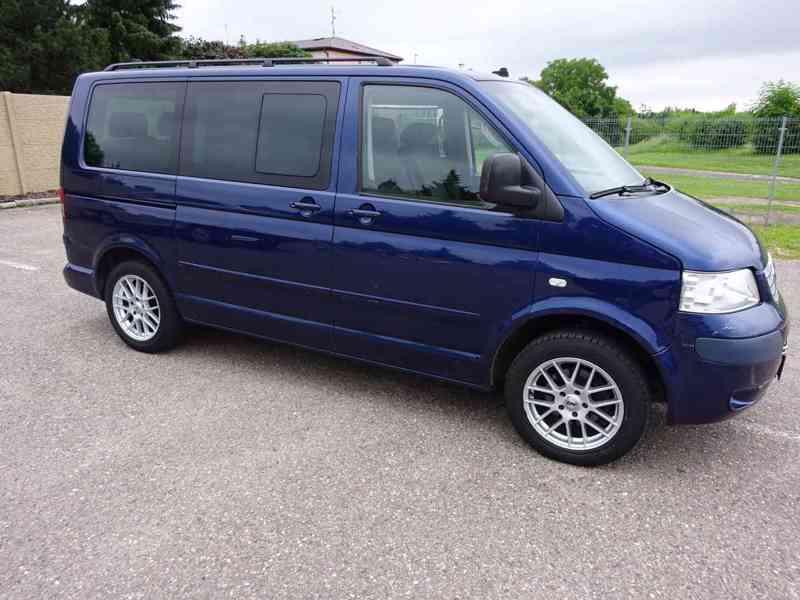 VW Multivan 2.5 TDI r.v.2003 2.Majitel v ČR - foto 2