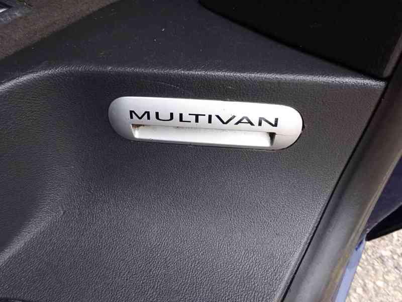 VW Multivan 2.5 TDI r.v.2003 2.Majitel v ČR - foto 19