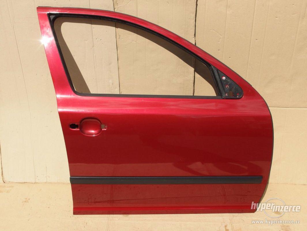 Pravé přední dveře Škoda Octavia II - foto 1