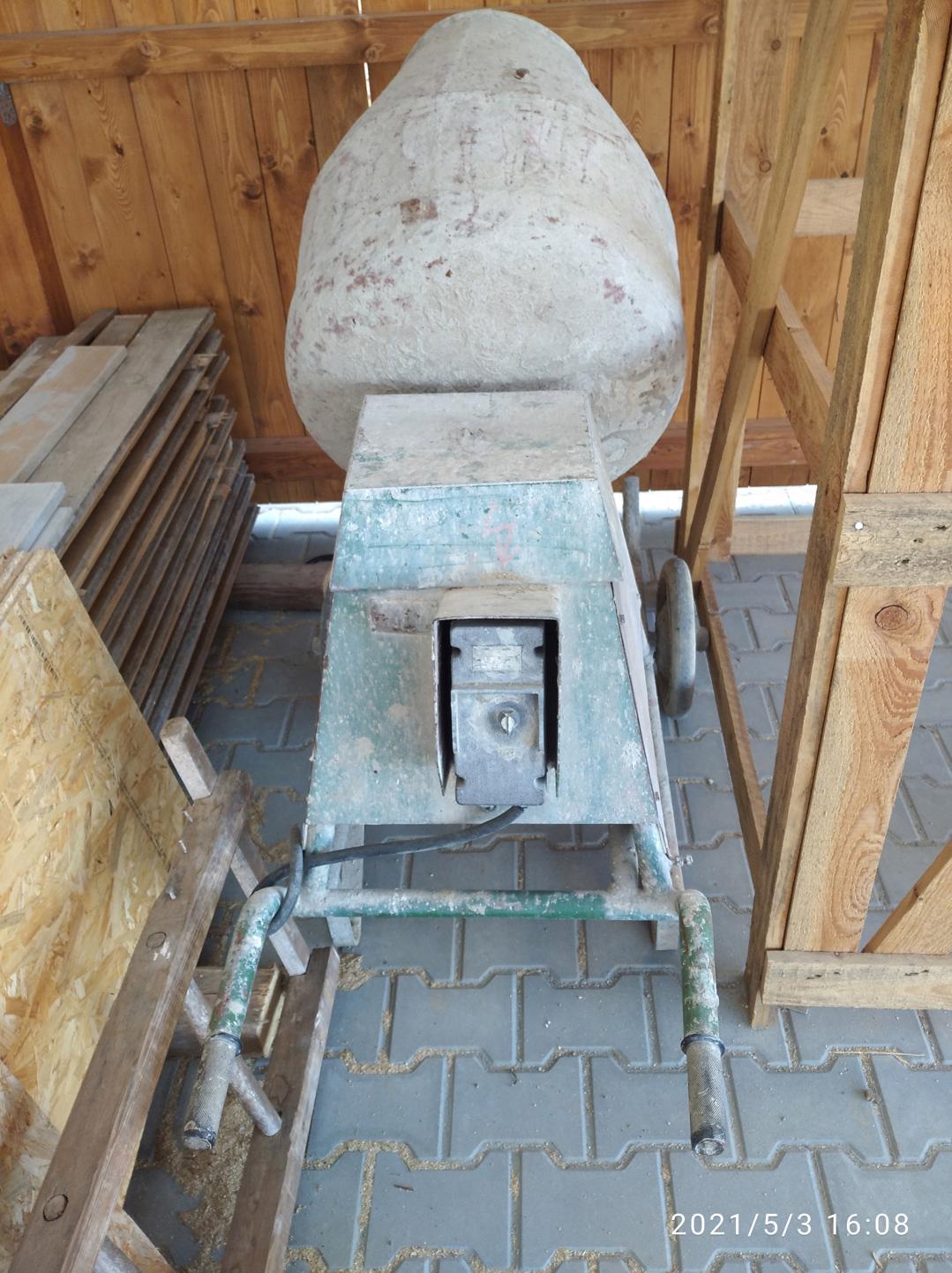 Míchačka stavební - foto 1