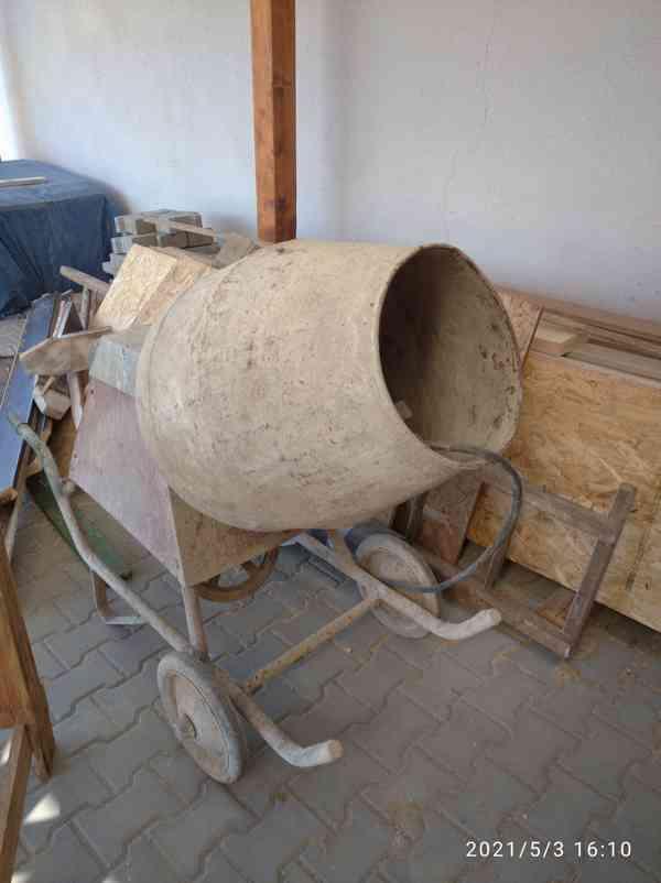 Míchačka stavební - foto 3