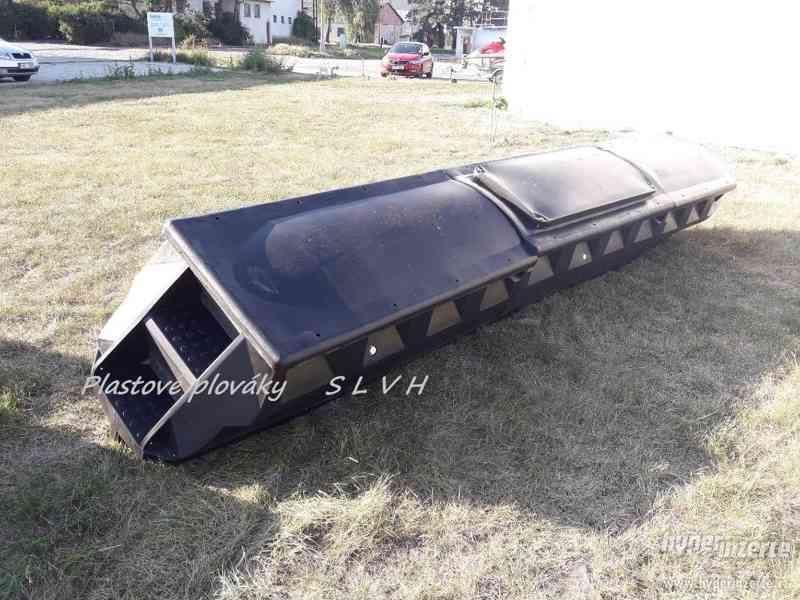 Hausbot si postavte na plastových plovácích SLVH - foto 2