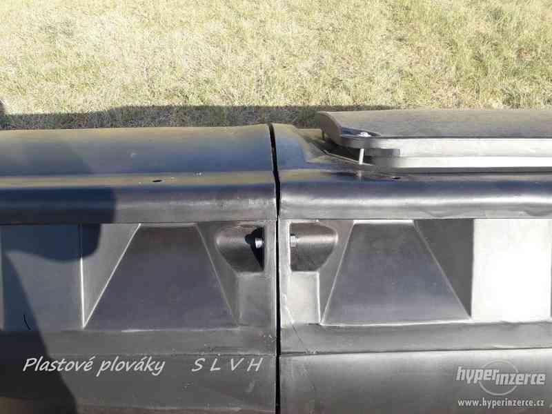 Hausbot si postavte na plastových plovácích SLVH - foto 5