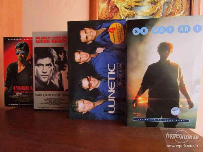 VHS kazety – 4x filmy a 2x nové