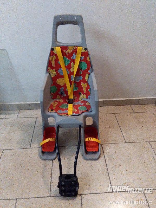Dětská sedačka na kolo