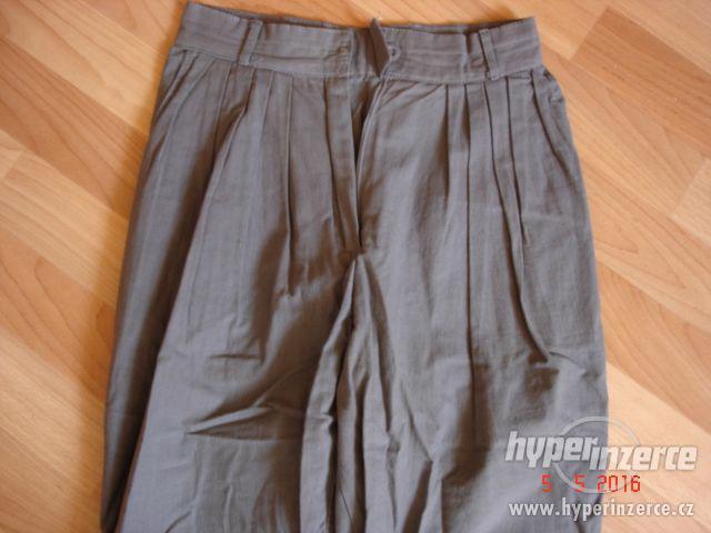 dámské plátěné kalhoty vel.34 NOVÉ