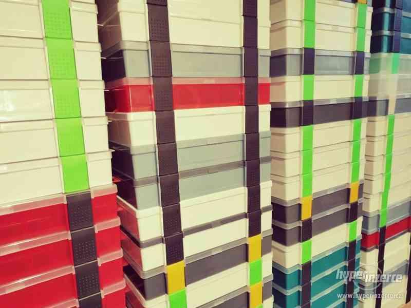 Plastové krabičky/organizery 25x16x4,5 cm
