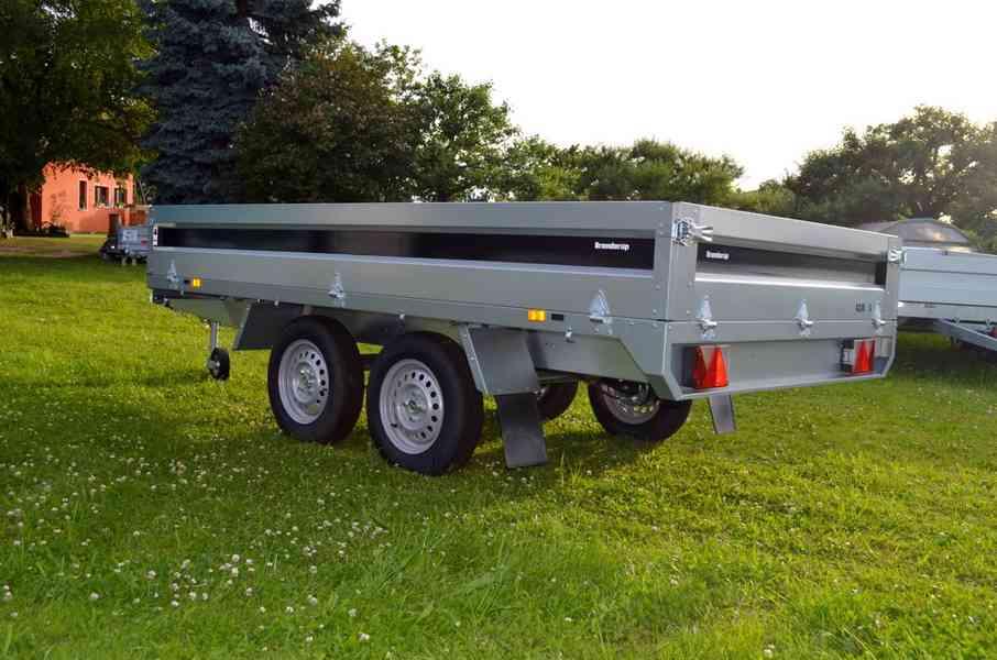 Přívěsný vozík Brenderup 4310 TB - 309x169, 2000kg
