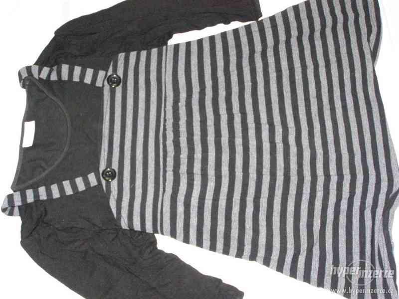 Těhotenská riflová sukně, rifle,halenky