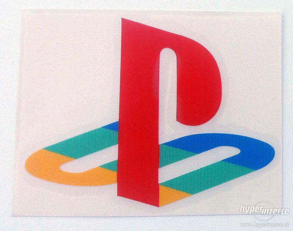 Playstation nalepovací logo 9,5 x 7,5cm - foto 1