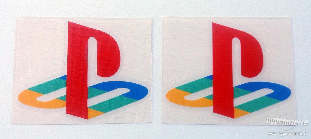 Playstation nalepovací logo 9,5 x 7,5cm - foto 2