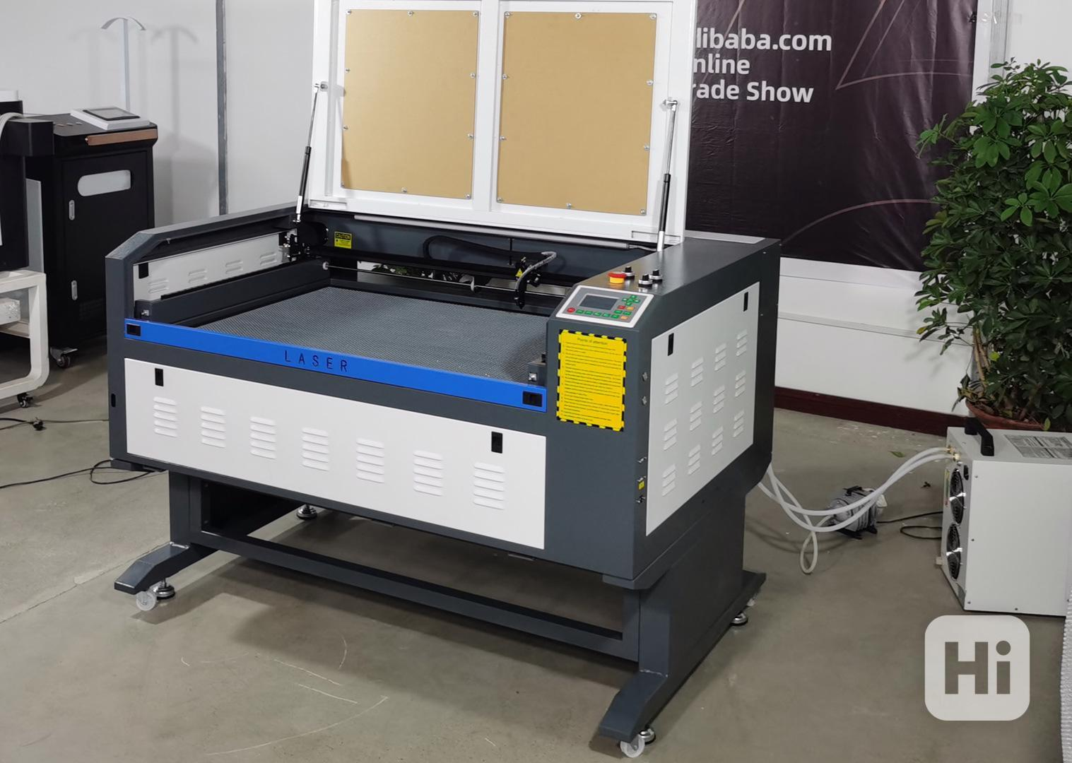 Laserová gravírka 80W, 100x60cm plocha, Ruida - foto 1