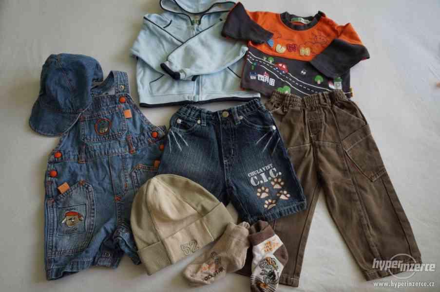 Sada oblečení pro kluka vel.68-74