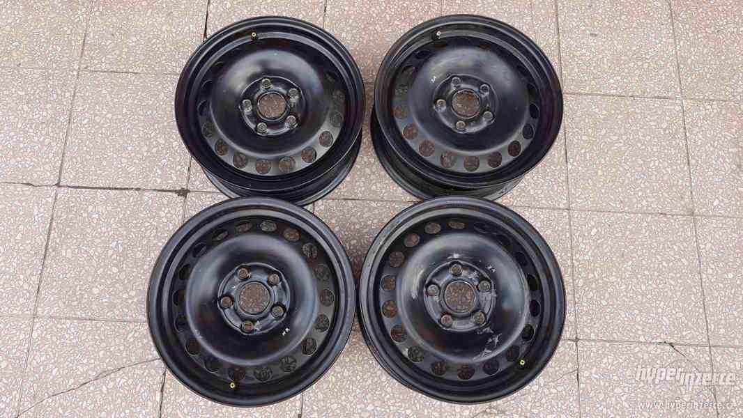 Disky ocelové plecháče Škoda Octavia originální - foto 1
