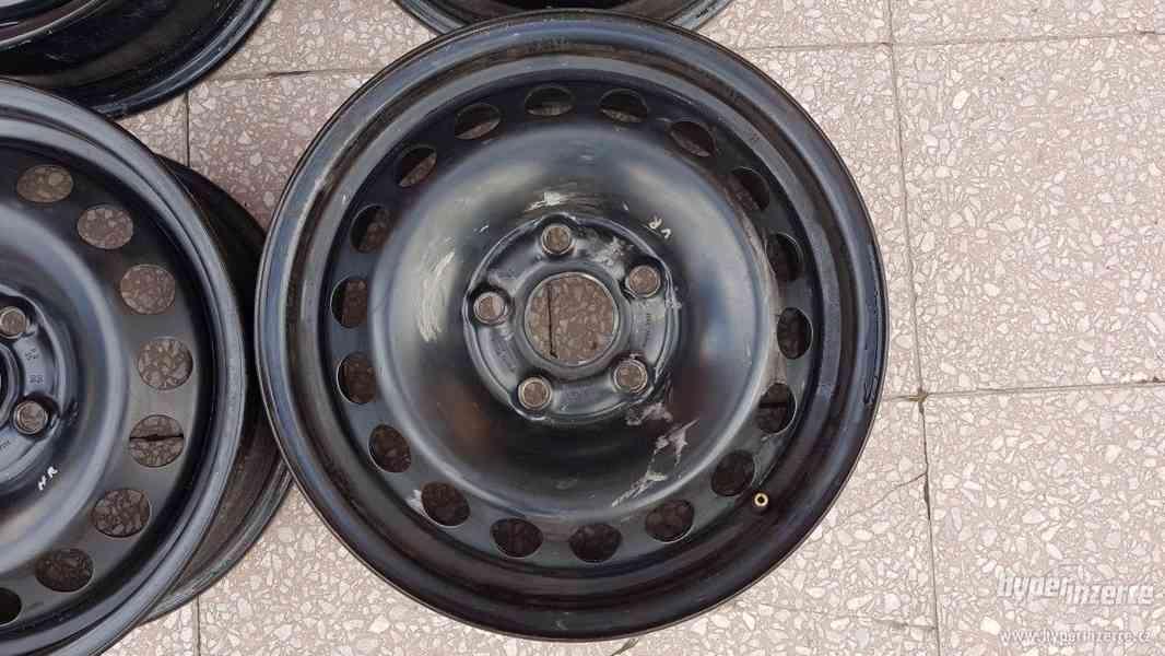 Disky ocelové plecháče Škoda Octavia originální - foto 3