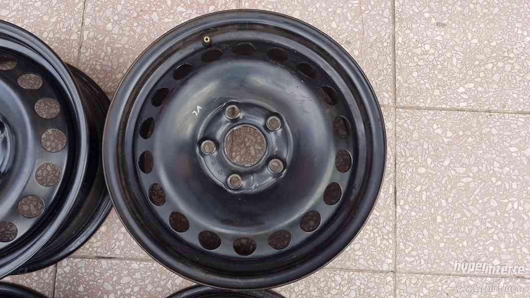 Disky ocelové plecháče Škoda Octavia originální - foto 4