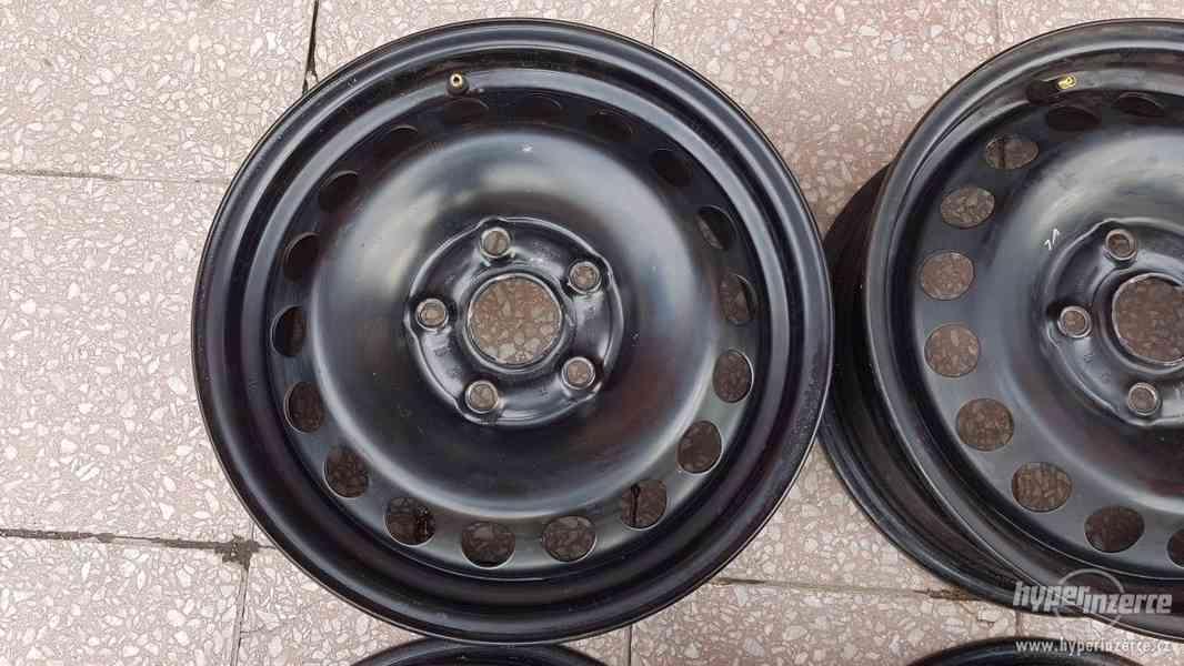 Disky ocelové plecháče Škoda Octavia originální - foto 5