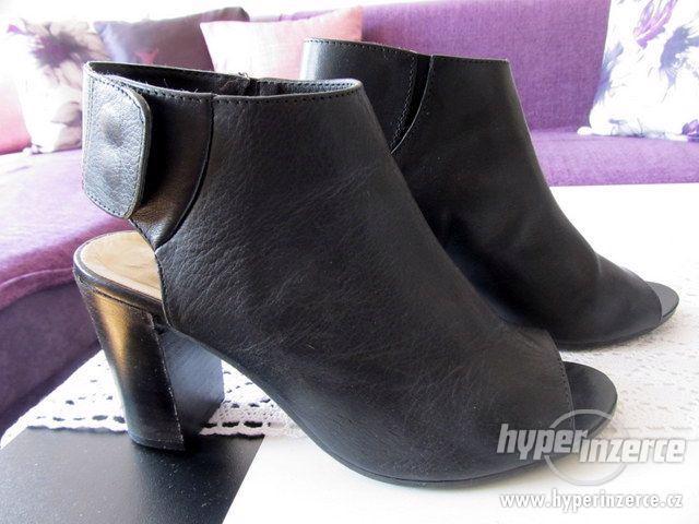 Nádherné, kožené boty BAŤA