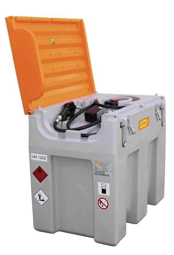 Mobilní nádrž na naftu 600 litrů, 12V