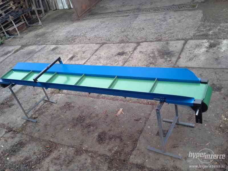 Pásový dopravník - 2 metry dlouhý - foto 3