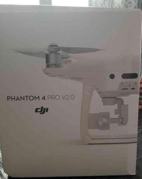 "DJI Phantom 4 Pro V2.0 - 1 ""snímač 20 MP, objektiv F2.8 nový"