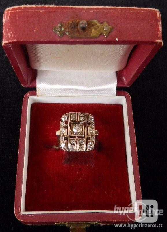 ART DECO Šperky -Prsteňe