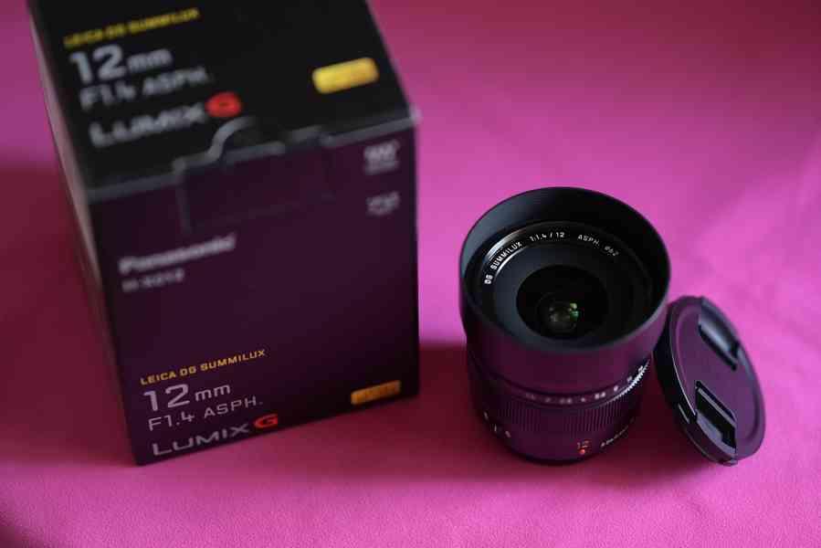 Objektiv PANASONIC 12 mm f/1,4 ASPH LEICA - foto 3